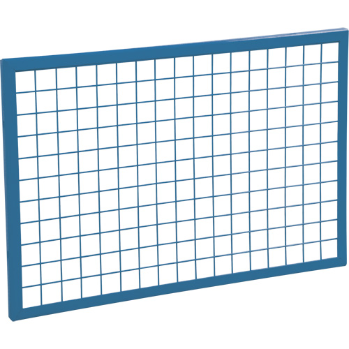 KLETON Wire Mesh Partition Components - Panels, 2' H x 3' W | SCN Industrial