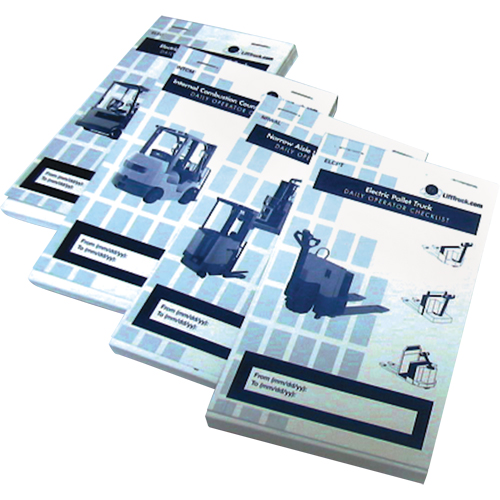 IDEAL WAREHOUSE INNOVATIONS Forklift Checklist Caddy