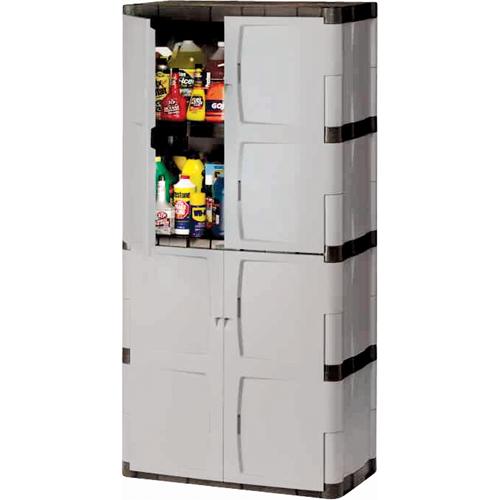 Armoire Rangement Exterieur Interieur En Plastique Contact Rangestock