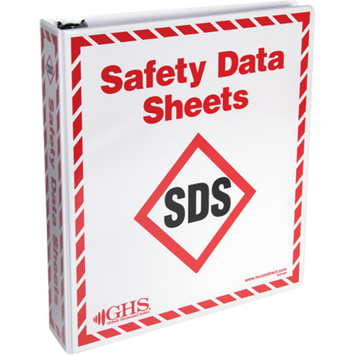 incom top tape label safety data sheet binders scn industrial