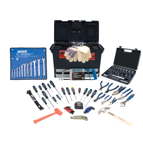 AURORA TOOLS 86-Piece Tradesman Tool Set | SCN Industrial