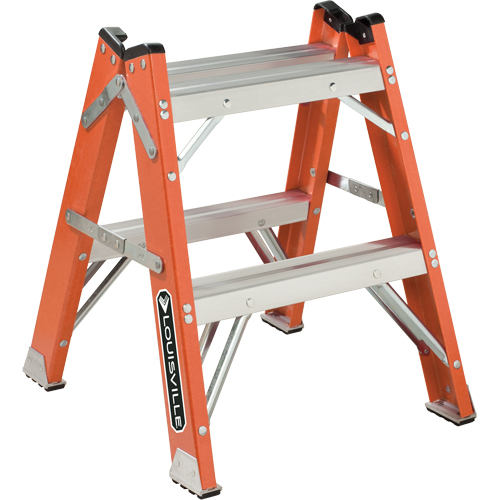 L-3433 Series - Extra Heavy-Duty Twin Front Step Stool VD426 | SCN Industrial