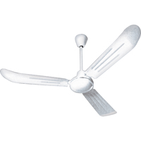 "CEILING FAN, 36"" BLADE 7100 C.F.M. WHITE BA152 