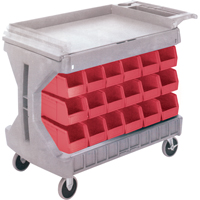 Pro Cart With Blue Bins CC825 | SCN Industrial