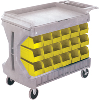 Pro Cart With Yellow Bins CC832 | SCN Industrial