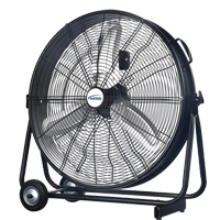 Light Industrial Direct-Drive Slim Drum Fan EA778 | SCN Industrial