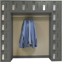All-Welded Archettes Concorde™ Heavy Duty Lockers FL360 | SCN Industrial