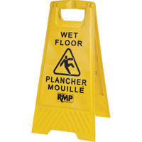 Bilingual Safety Wet Floor Sign JD391 | SCN Industrial