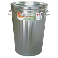 Pre-Galvanized Steel Garbage Cans JH765 | SCN Industrial