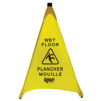 Bilingual Pop-Up Safety Cone JI455 | SCN Industrial