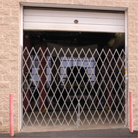 Galvanized Folding Security Gates KA031 | SCN Industrial