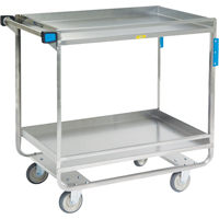 Stainless Steel Guard Rail Carts MK976 | SCN Industrial
