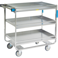 Stainless Steel Guard Rail Carts MK977 | SCN Industrial