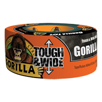 Tough & Wide Black Gorilla Duct Tape NKA483 | SCN Industrial