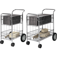 Wire Mail Carts OB185 | SCN Industrial