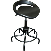Swivel Stools with Oversized Polyurethane Seat ON566 | SCN Industrial