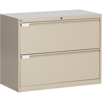 2-Drawer Lateral Filling Cabinet OP214 | SCN Industrial