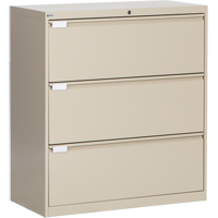 3-Drawer Lateral Filling Cabinet OP217 | SCN Industrial