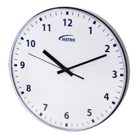 12 H Battery Operated Wall Clock OP237 | SCN Industrial