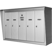 Single Deck Wall Mounted Mailboxes OP382 | SCN Industrial