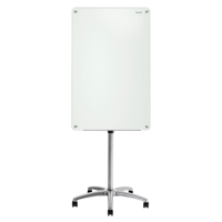 Quartet® Infinity™ Glass Magnetic Mobile Easel OP852 | SCN Industrial