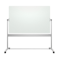 Quartet® Infinity™ Reversible Glass Magnetic Mobile Easel OP853 | SCN Industrial