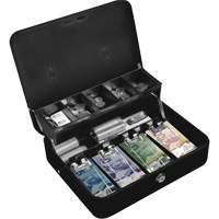 Tiered-Tray Deluxe Cash Box OQ771 | SCN Industrial