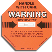 Shockwatch® Impact Detection Devices PC439 | SCN Industrial