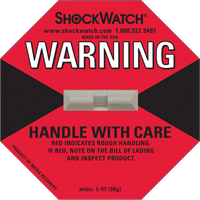 Shockwatch® Impact Detection Devices PC440 | SCN Industrial