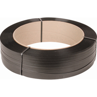 "STRAPPING 1/2"" POLY BLAC7200'/ROLL 16""X6"" CORE PC114 