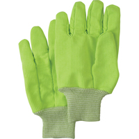 Poly/cotton High Visibility Gloves SAO581 | SCN Industrial