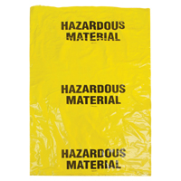 Hazardous Waste Bags SEK328 | SCN Industrial