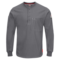 Excel FR® Long Sleeve Henley Shirts SGC032 | SCN Industrial