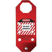 Stopout® OSHA Danger Aluma-Tag™ Do Not Operate Hasp SGH859 | SCN Industrial