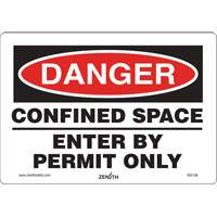 Danger Confined Space Safety Sign SGI136 | SCN Industrial