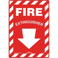 Fire Extinguisher Safety Sign SGI137 | SCN Industrial