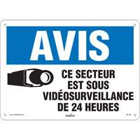 French Video Surveillance Safety Sign SGI146 | SCN Industrial