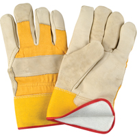 Grain Cowhide Fitters Foam Fleece Lined Gloves SDL891 | SCN Industrial