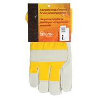 Grain Cowhide Fitters Foam Fleece Lined Gloves SM611R | SCN Industrial