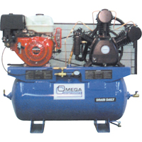 Industrial Series Air Compressors - 11 HP Gas Engine Compressors TFA106 | SCN Industrial