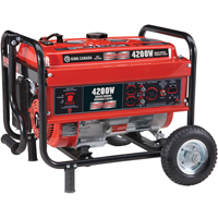 4200W Gasoline Generator with Wheel Kit TMA075 | SCN Industrial