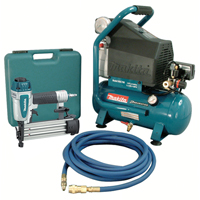 2 HP Air Compressor and Brad Nailer Kit TNB259 | SCN Industrial