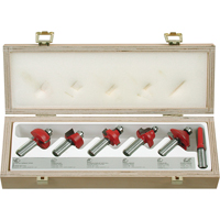 Router Bit Set - 6 Pieces TW632 | SCN Industrial