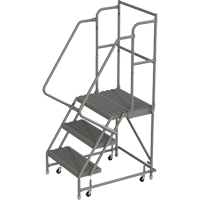 Deep Top Step Rolling Ladder VC763 | SCN Industrial