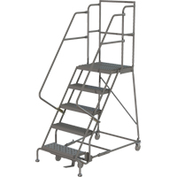 Deep Top Step Rolling Ladder VC767 | SCN Industrial