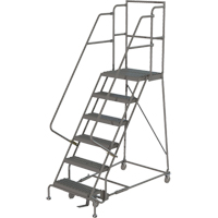 Deep Top Step Rolling Ladder VC768 | SCN Industrial