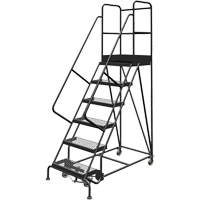 Deep Top Step Rolling Ladder VC769 | SCN Industrial