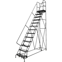 Deep Top Step Rolling Ladder VC777 | SCN Industrial