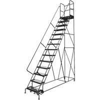 Deep Top Step Rolling Ladder VC778 | SCN Industrial