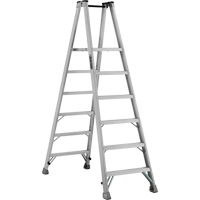 Industrial Heavy-Duty Aluminum 2-Way Platform Stepladders (AMP1500 Series) VD423 | SCN Industrial